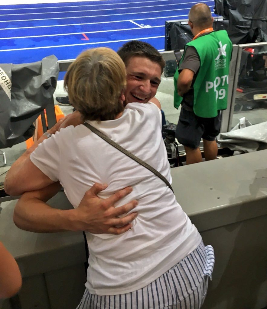 Tim and his gran