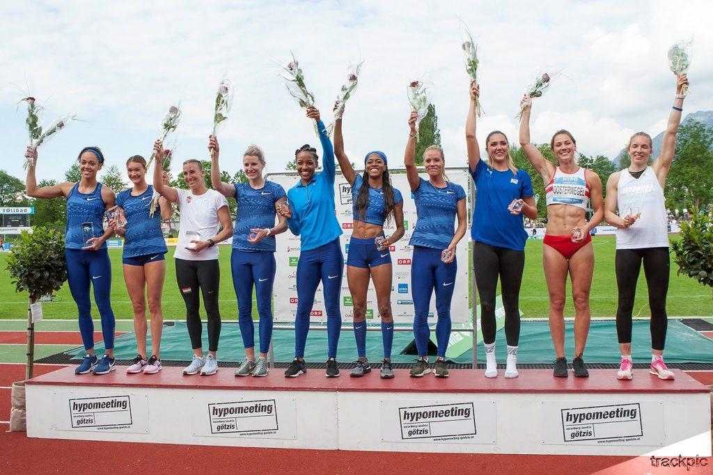 Gotzis heptathlon podium
